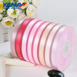Yama red satin ribbon