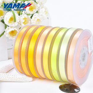 Yama yellow satin ribbon