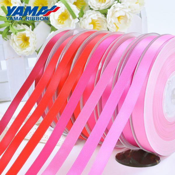 Yama red satin ribbon