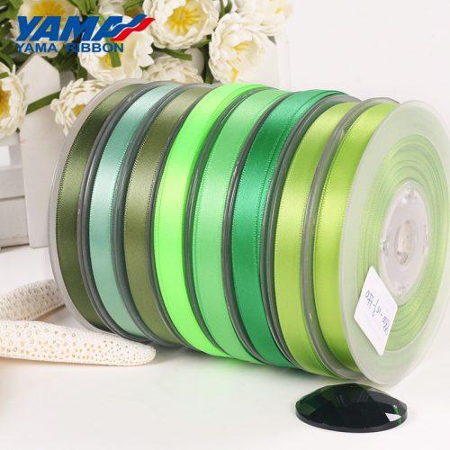 Thick ribbon green