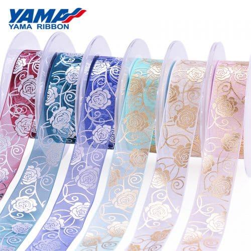 Foil Stamping Organza Ribbon