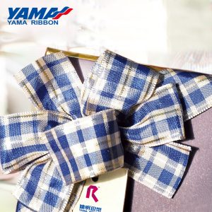 Gingham Plain Ribbon