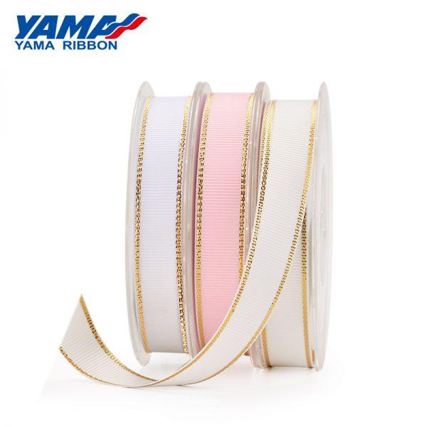 Metallic Edge Grosgrain Ribbon