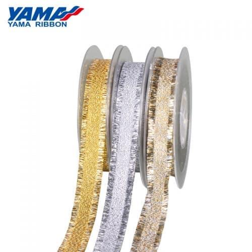 YAMA Metallic Braided Fringe Ribbon