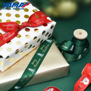 Yama Christmas ribbon