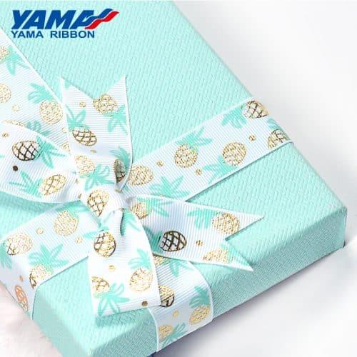 foil-gold-stamping-pineapple-ribbon
