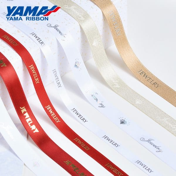 custom logo ribbon
