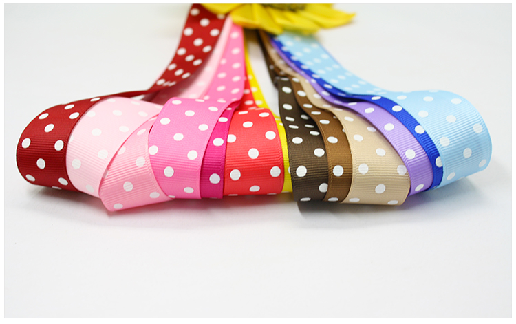 yama ribbon grosgrain ribbon 3 dots