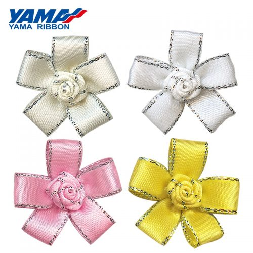 wide silver ribbon
