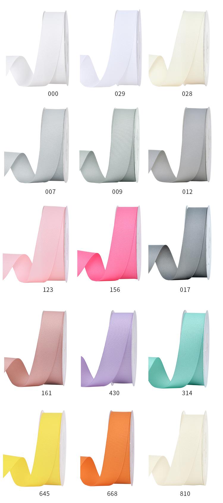 Interlacing Grosgrain Ribbon