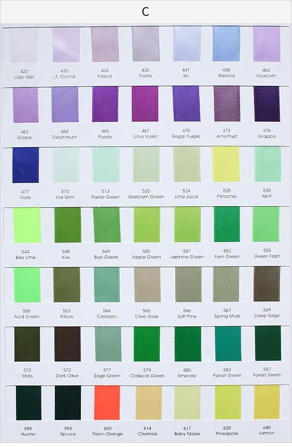 Satin_ribbon_color_card_C
