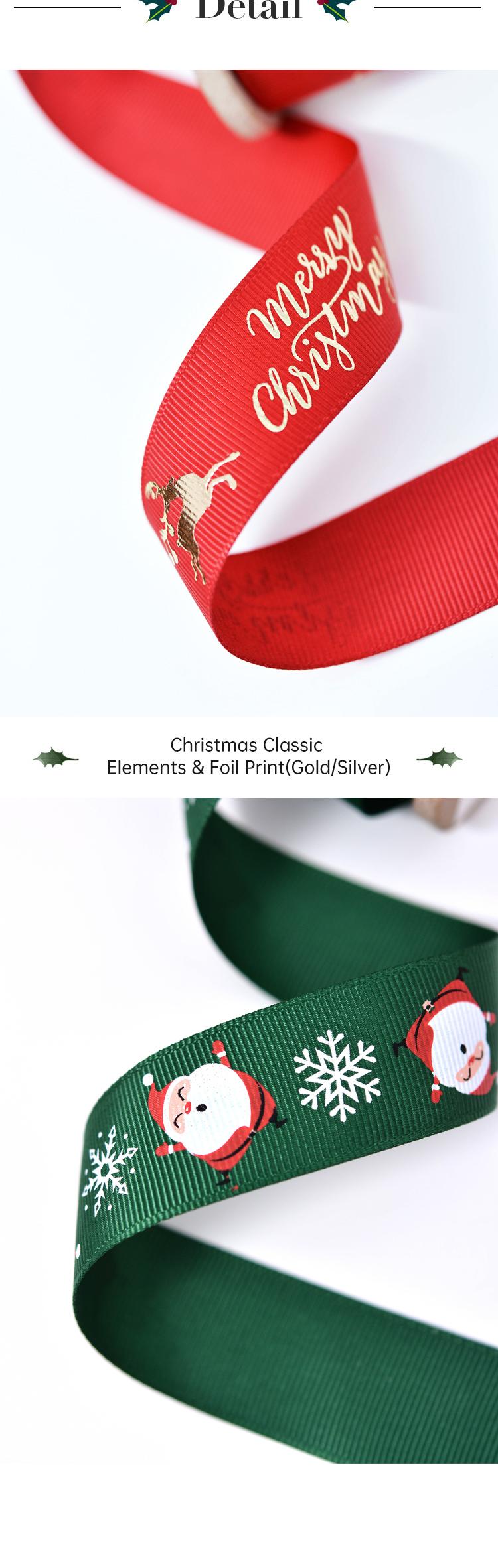 Christmas Silk Ribbon